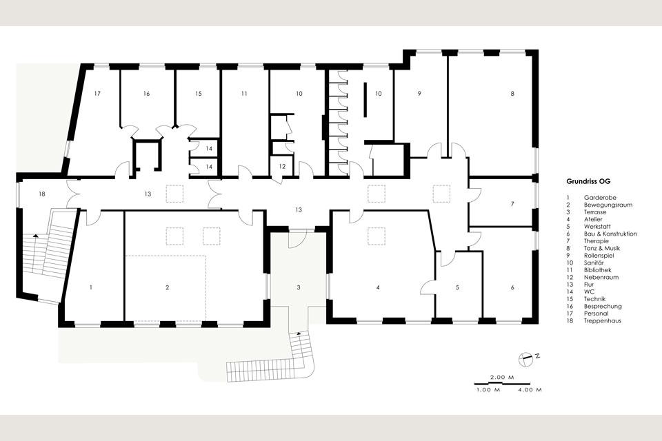 Treppenhaus Grundriss kinder studiogold