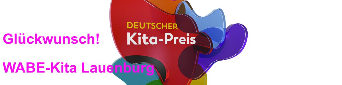 Trophäe des Deutschen Kita-Preises